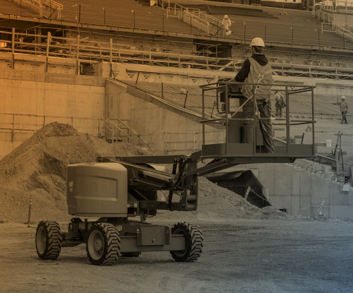 Hoogwerker huren met lage emissie
